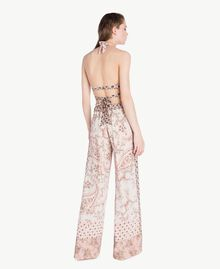 Printed trousers Vegas Pink Patch Print Woman BS8AHH-04