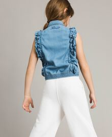 Weiches Jeans-Top Soft Denim Kind 191GJ2561-03