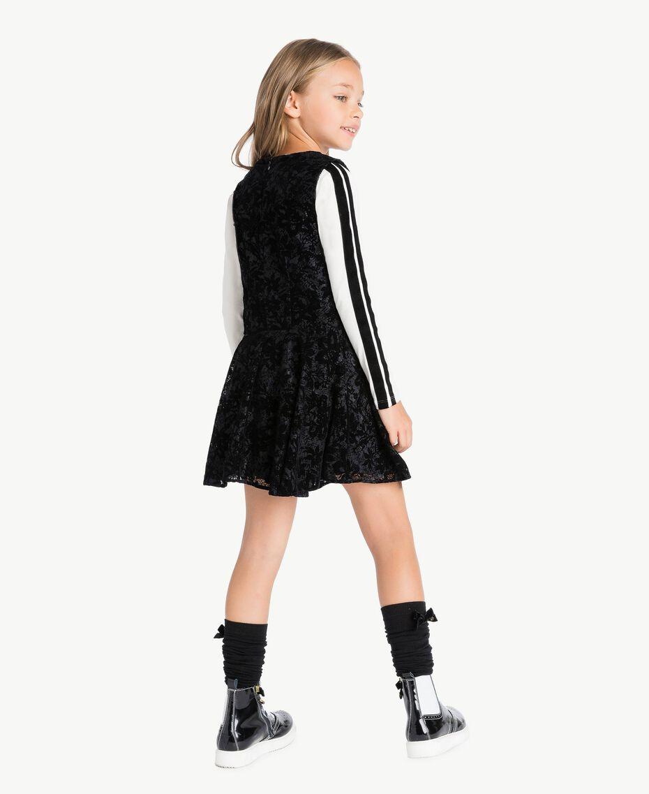 Vestido de encaje Negro GA72LB-03