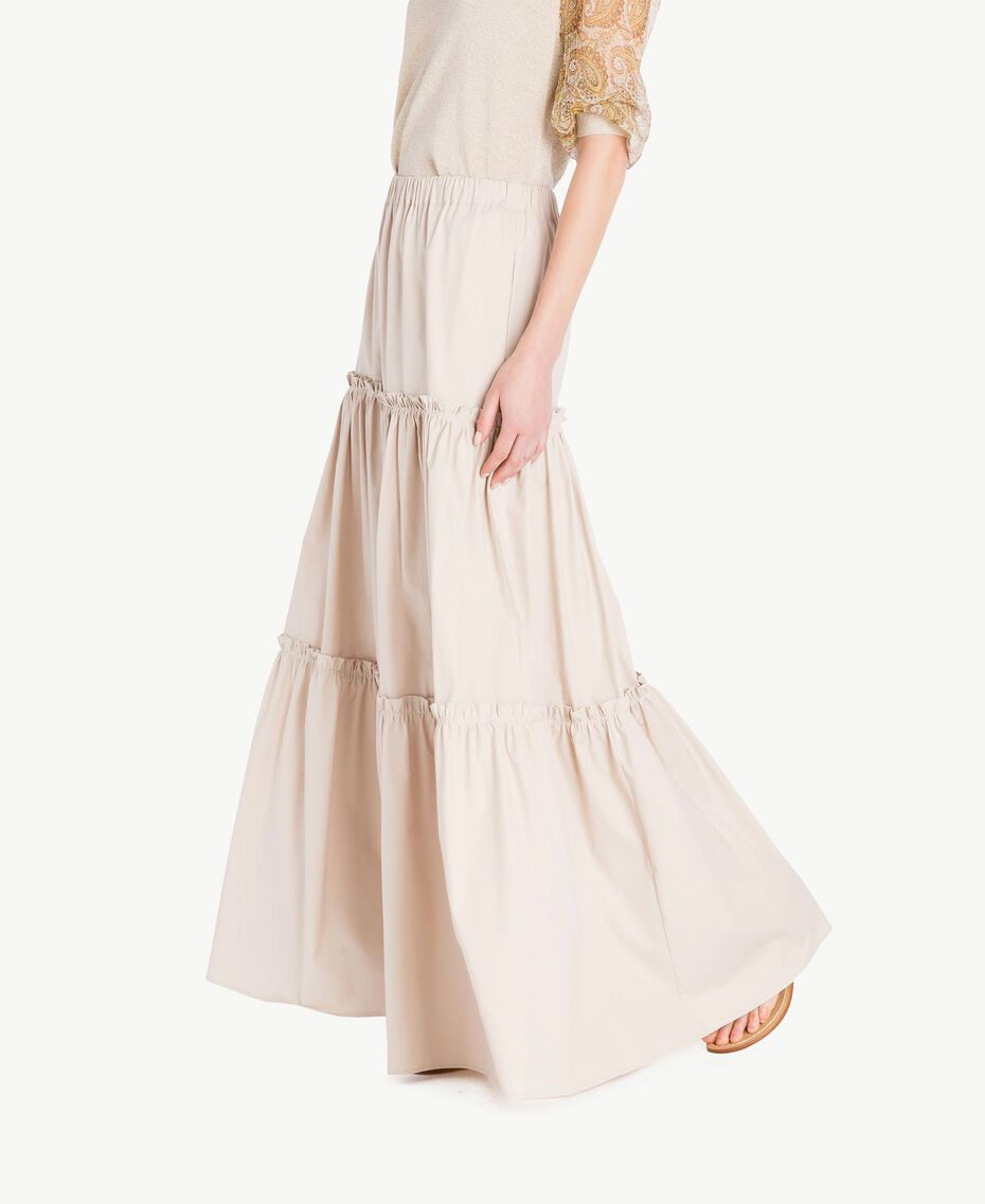Long poplin skirt Dune Woman TS821V-02