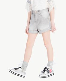 Denim shorts Light Grey Denim Child GS82FN-03
