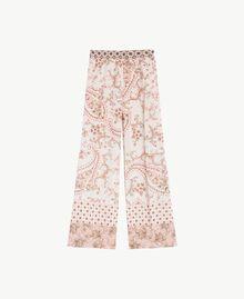 Pantalon imprimé Imprimé Patch Rose Vegas Femme BS8AHH-01