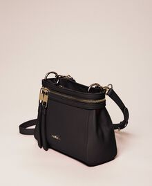 Small faux leather New Cécile bag Black Woman 201TO8181-02