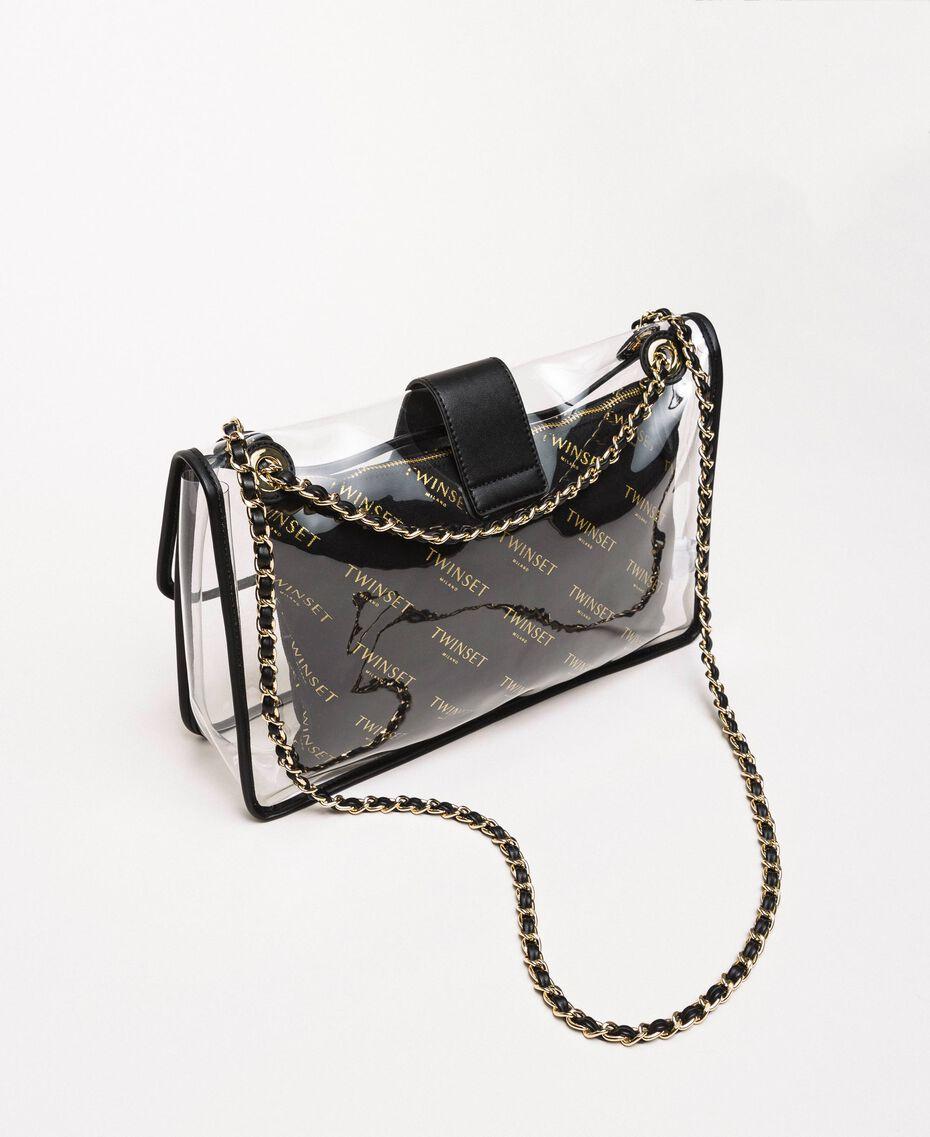 Large shoulder bag with pochette White Woman 201TA7181-03