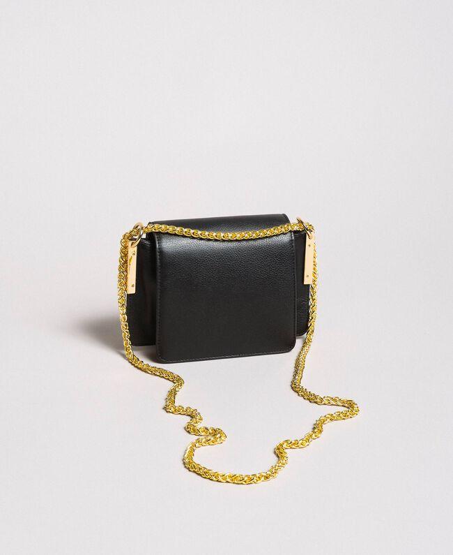 Bea Bag tracolla piccola in pelle Nero Cuore Donna 191TA7142-04