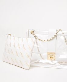 Large shoulder bag with pochette White Woman 201TA7181-05