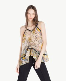 Printed top Paisley Print Woman SS82MA-01