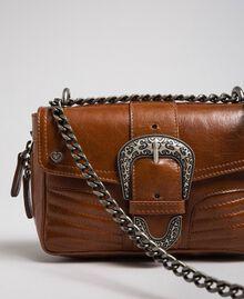 Petit sac à bandoulière Rebel en cuir Cuir Femme 192TO823F-03
