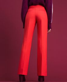 Pantalon en laine technique Fuchsia Rose Vegas Femme 192TT2450-03