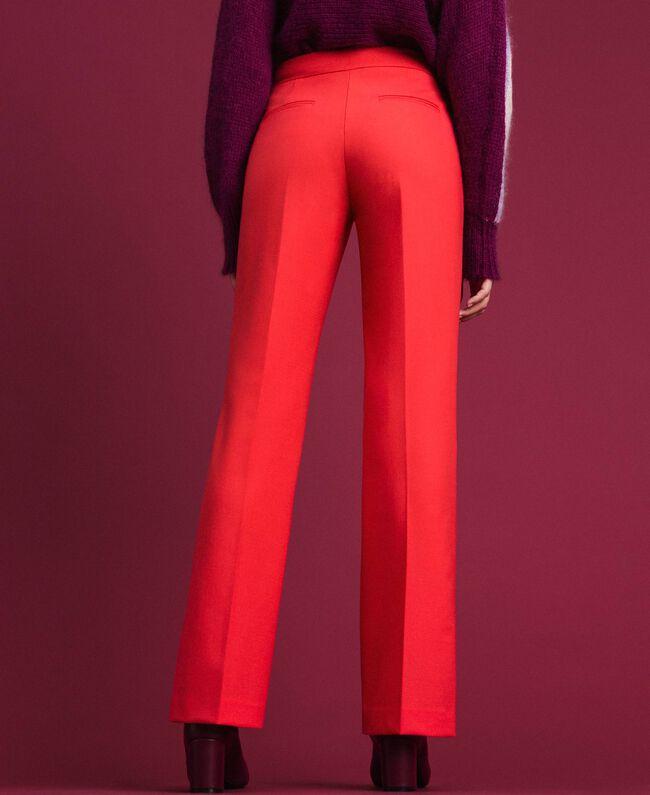 Pantaloni in lana tecnica Fucsia Pink Vegas Donna 192TT2450-03
