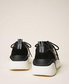 Chaussures de running avec logo Noir Femme 202TCP036-04