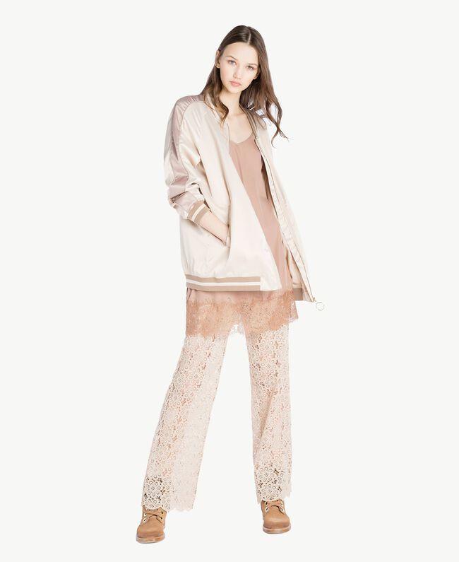 Lace palazzo pants Rope Woman SS82LH-05