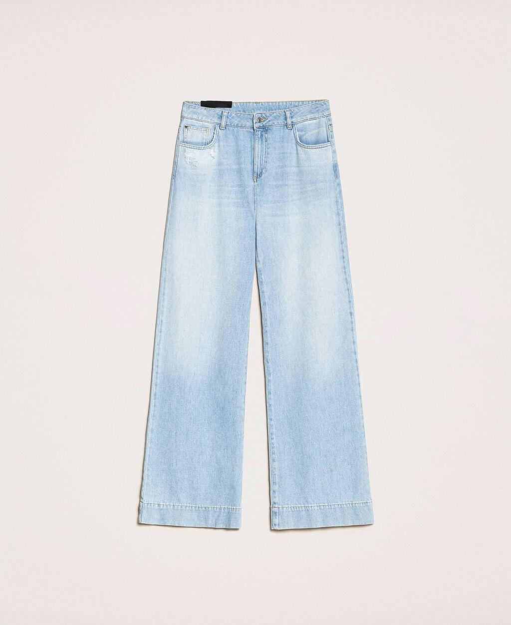Jean ample avec cinq poches