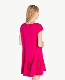 """Kleid mit Volant """"Anemonen""""-Fuchsia PA72TG-03"""
