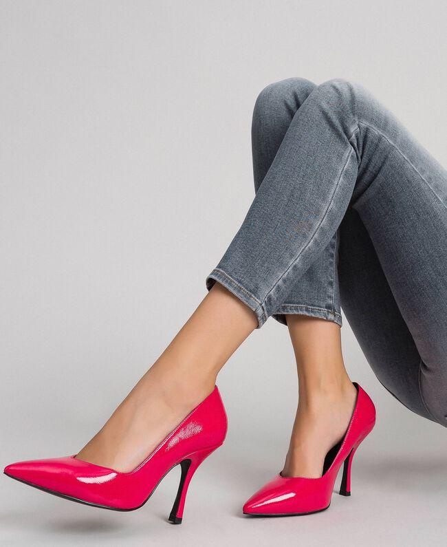 Escarpins vernis Rose «Rose Brillant» Femme 192MCT062-0S