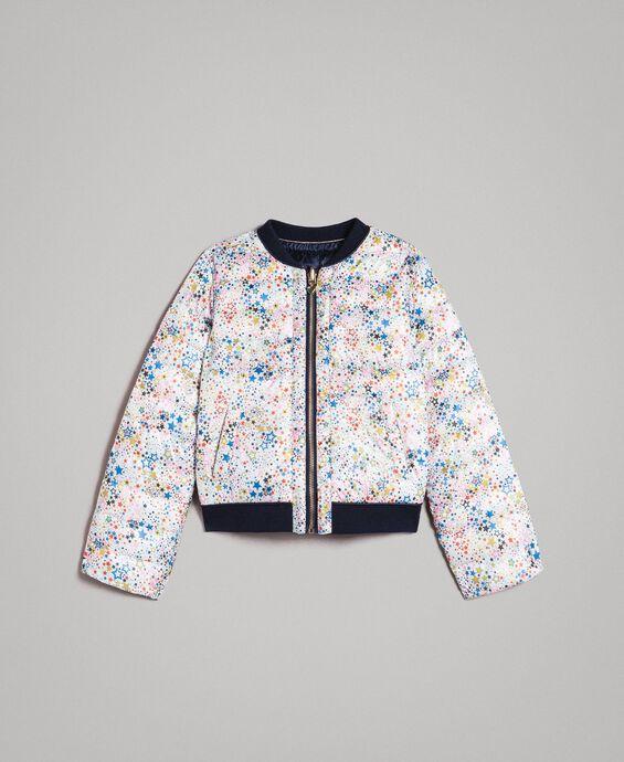Ultra lightweight reversible puffer jacket