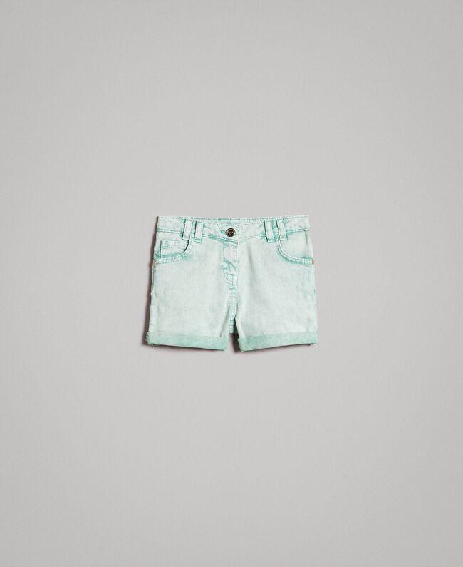"""Délavé-Bull-Shorts """"Island Paradise"""" Hellblau Kind 191GJ2491-01"""