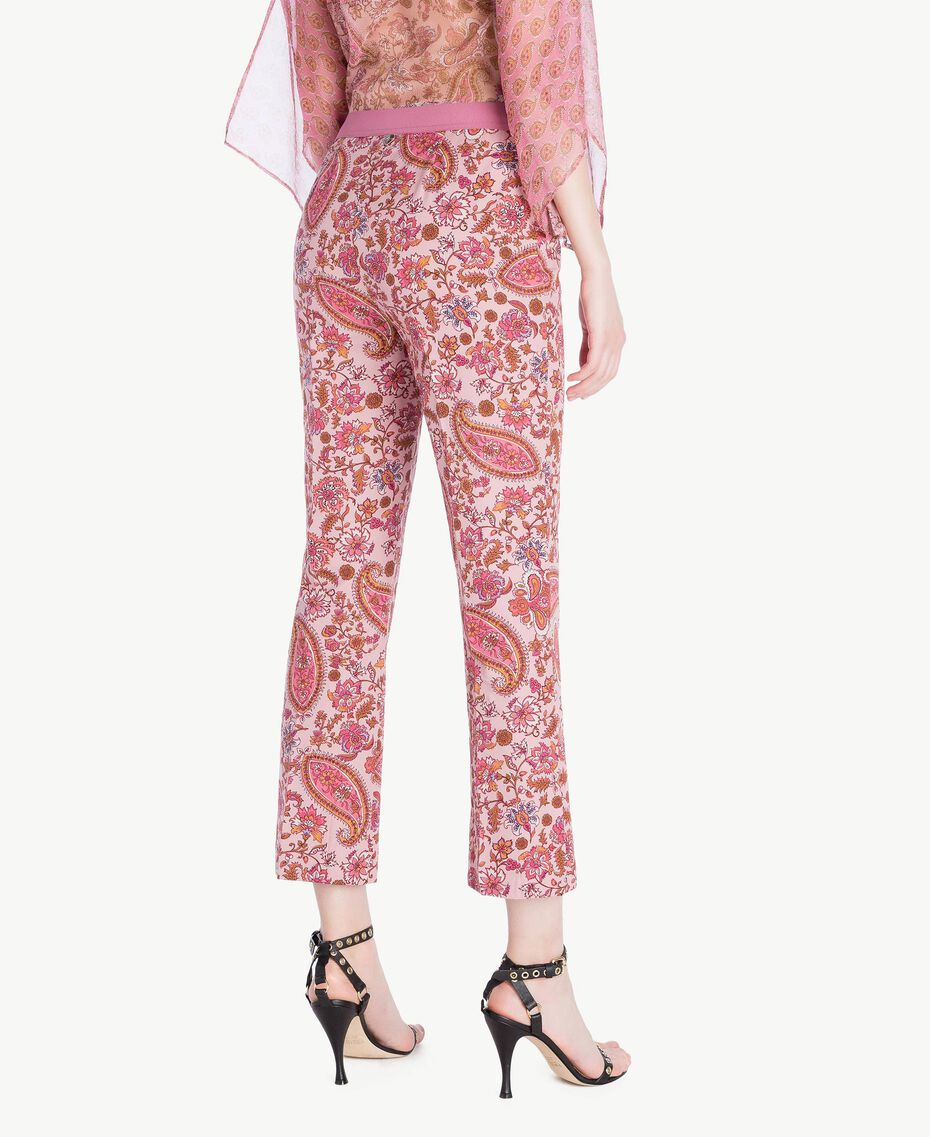 Pantalon flare imprimé Imprimé «Hippie Arabesque» Femme TS82X3-03