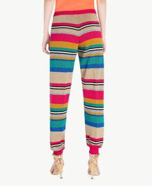Pantalón de lúrex Raya Multicolor Lúrex Mujer TS833R-03