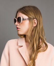 Cat-eye sunglasses Bud Pink Woman 999TZ4010-0S