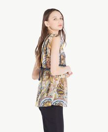 Printed top Paisley Print Woman SS82MB-02