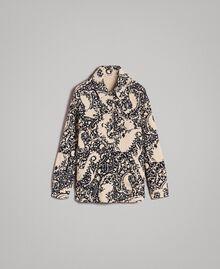 Matelassé cotton print shirt Stamped Print Woman 191TT2190-0S
