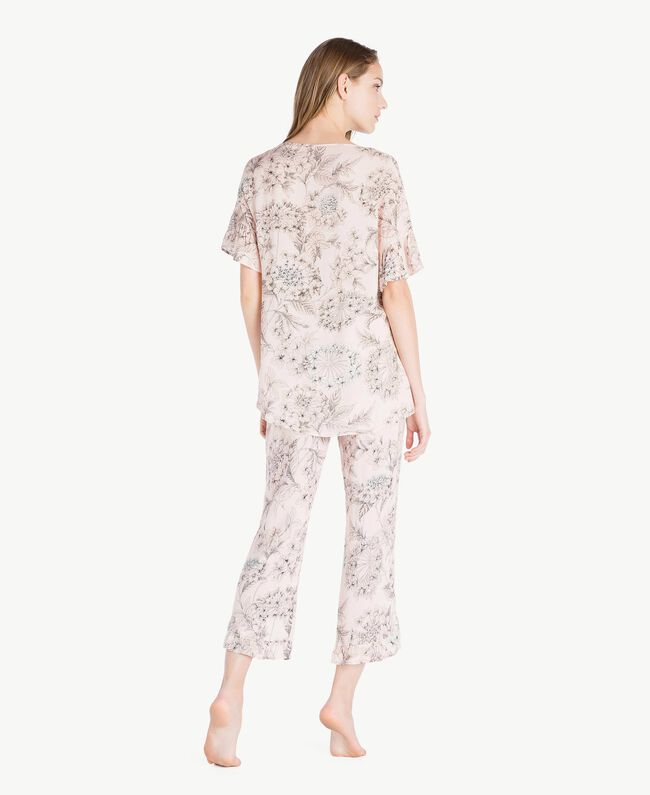 Printed pyjamas Pinkie Sugar Macrofloral Print Woman LS8DHH-04