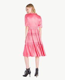 """Silk dress """"Doll"""" Fuchsia Woman PS825B-03"""