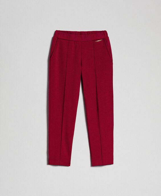 Pantalon slim avec élastique