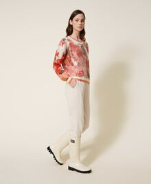 Pantalon de jogging avec poches Rose Cloud Pink Femme 202LI2HDD-02