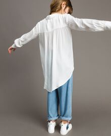 Satin asymmetric shirt Off White Child 191GJ2361-03
