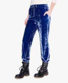 Pantalon velours Bleu Bleuprint TA721J-04