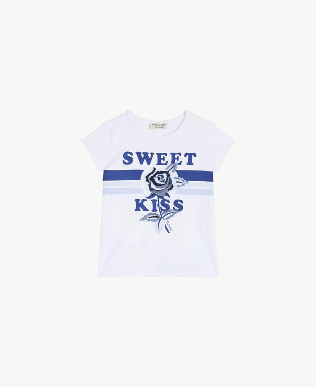 "Printed T-shirt ""Sweet"" Print Child GS82A2-01"