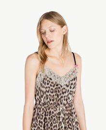 Vestido animal print Estampado Mácula Mujer PS82VA-04