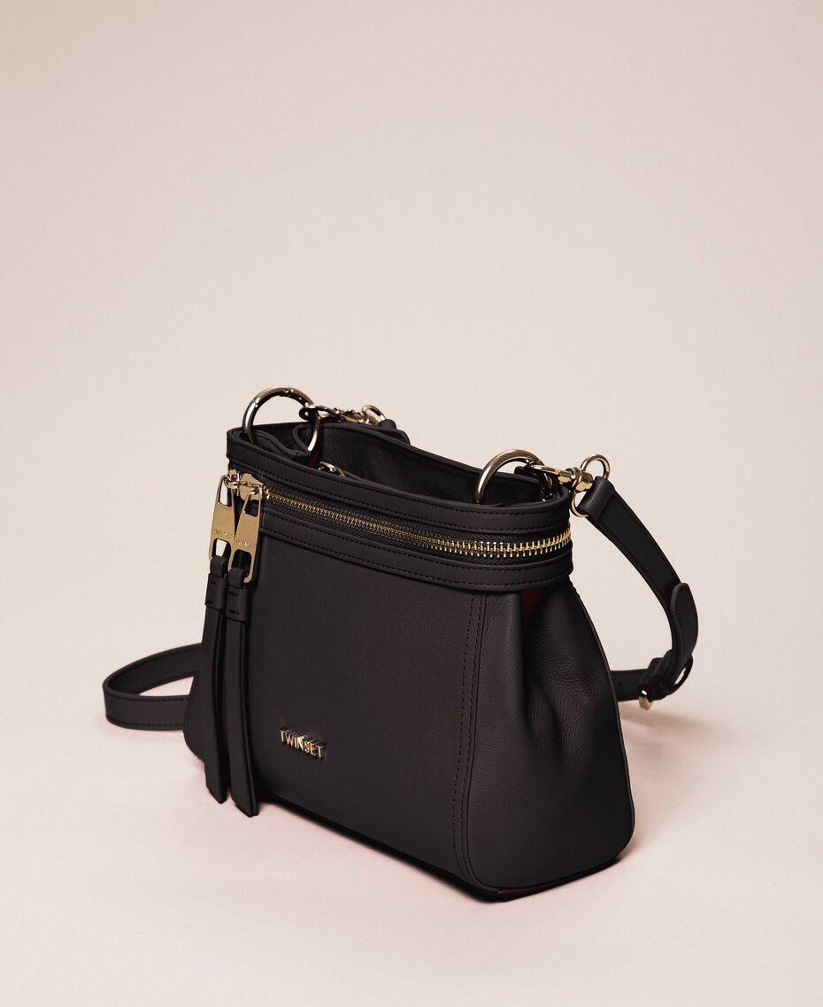 Petit sac New Cécile en similicuir Noir Femme 201TO8181-02