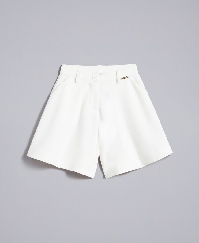 Gonna pantalone in crêpe Off White Bambina FA82DA-01