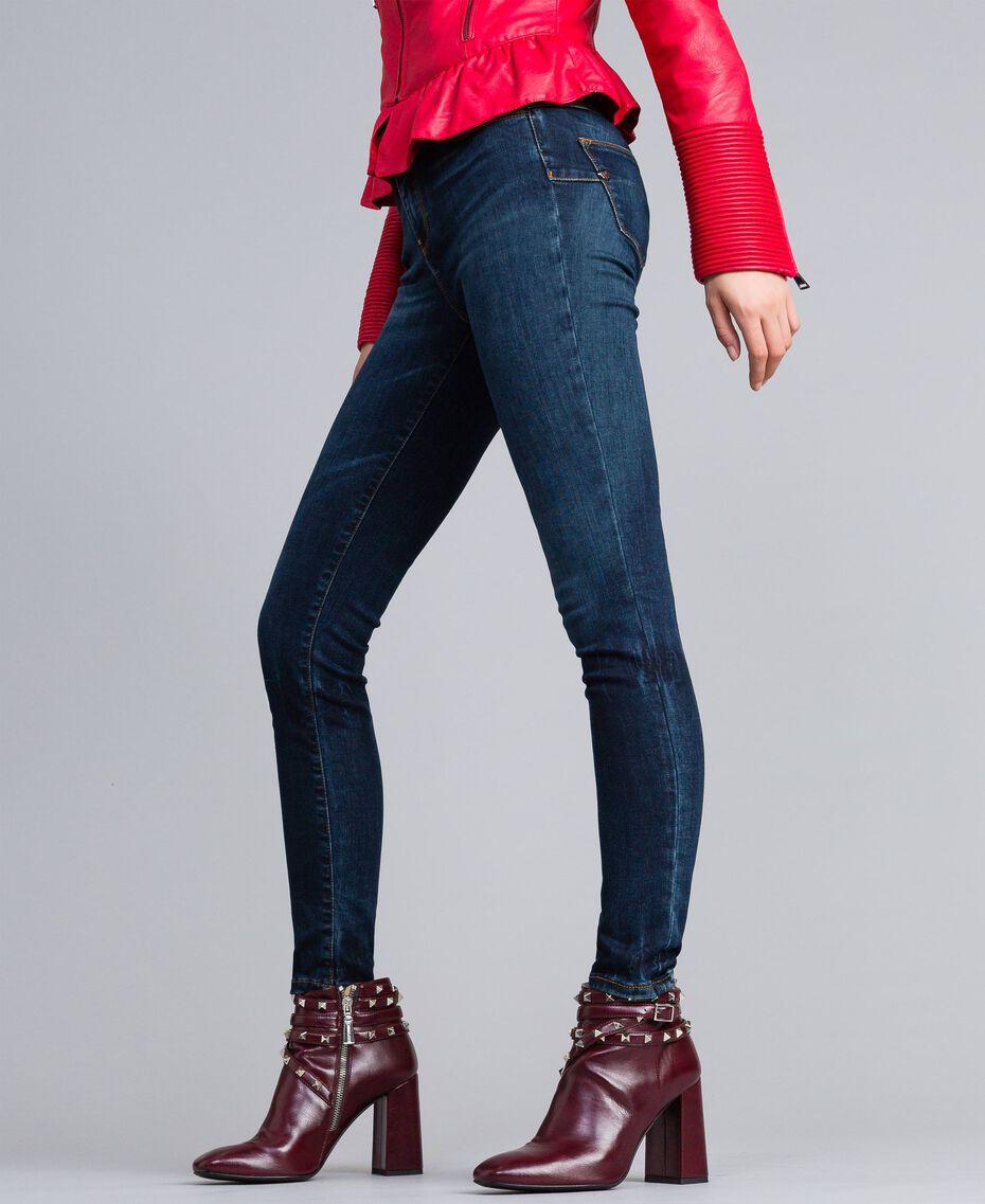 Stretch denim skinny jeans Denim Blue Woman JA82Q9-02