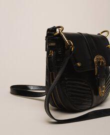 Large Rebel shoulder bag Black Woman 201TA723J-03