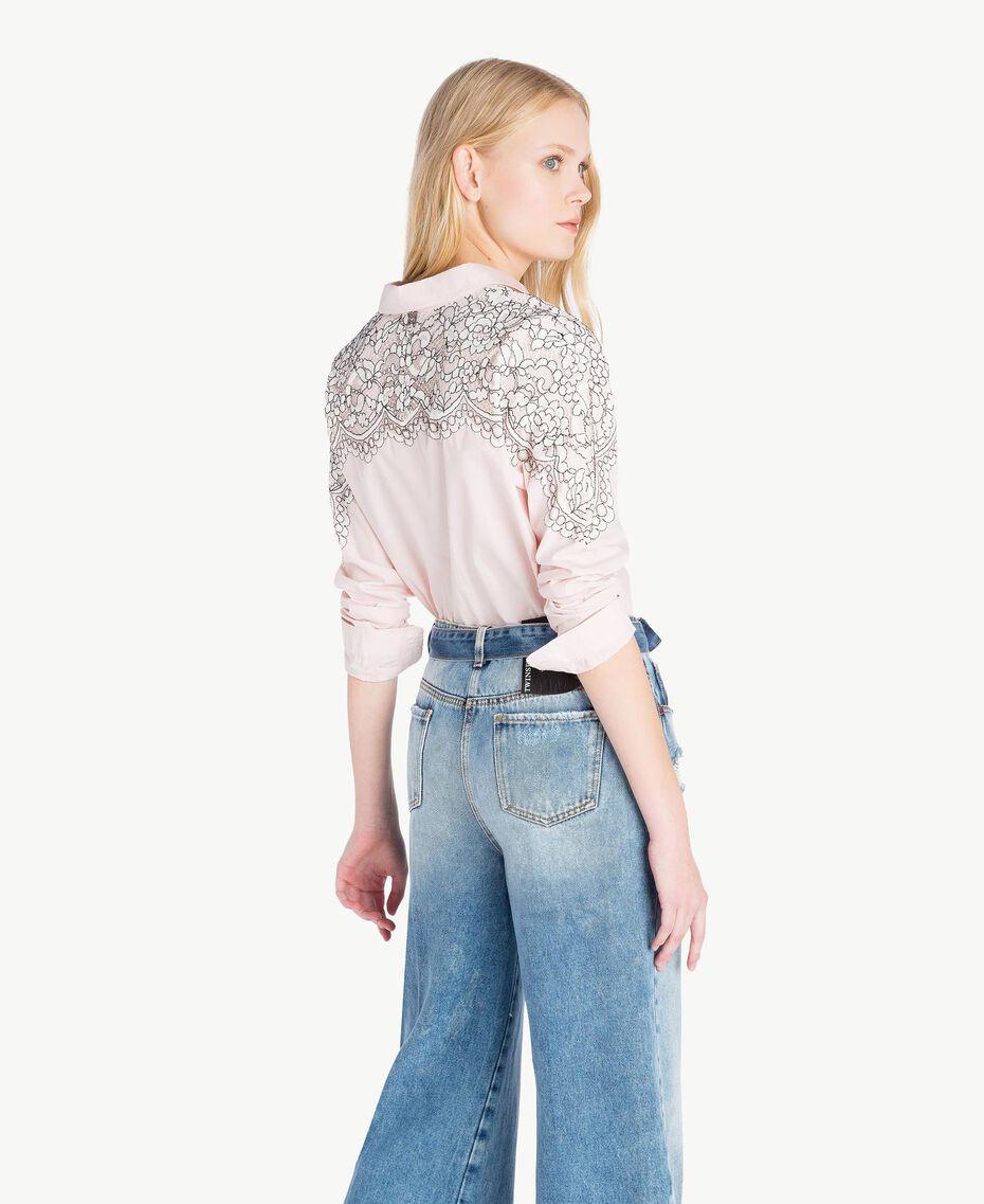 Lace shirt Quartz Pink Woman JS82D2-03