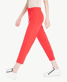 Cady drainpipe trousers Ginger Red Woman SS82AE-02