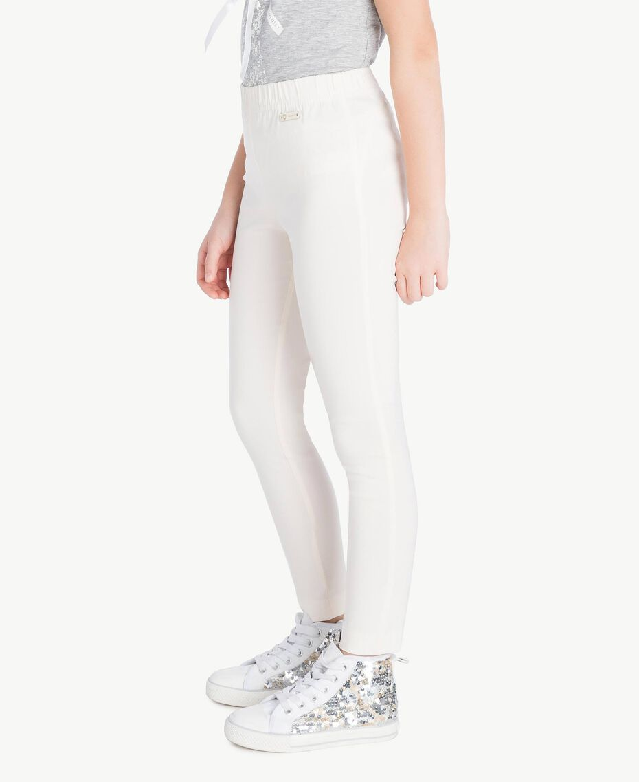 Skinny trousers Pale Cream Child GS82HP-03