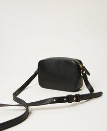 Shoulder bag with logo Black Woman 211TD8081-04