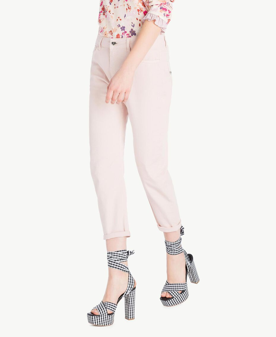 Girlfriend trousers Quartz Pink Woman JS82Z4-02