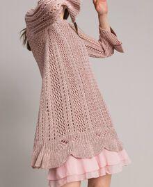 Robe en maille de lurex Lurex Rose Perle Femme 191TP3350-05