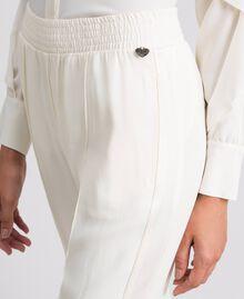 Pantalon en cady Blanc Neige Femme 192TT2292-05