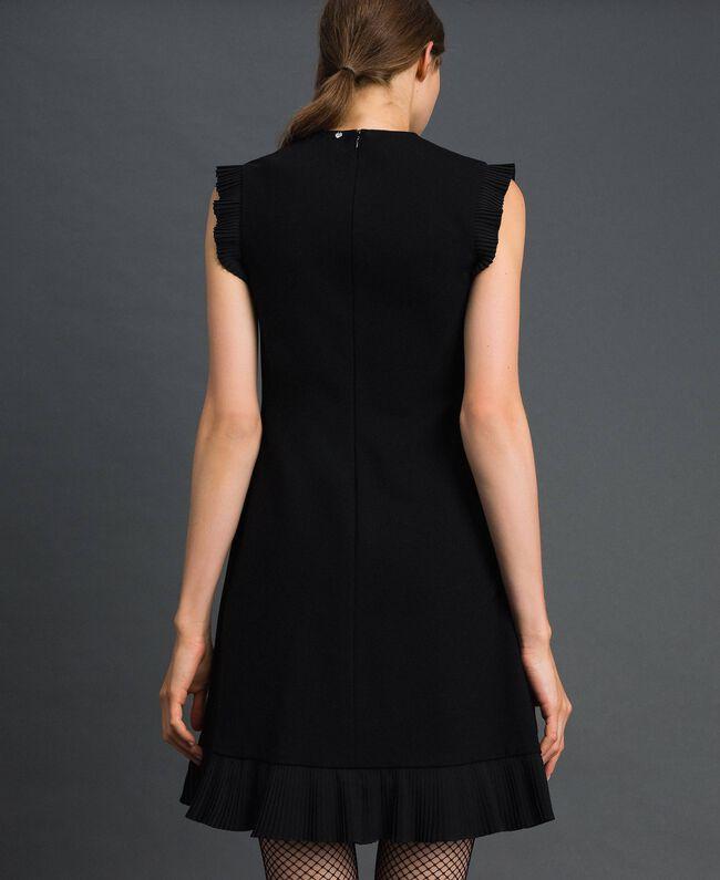 Robe avec détails plissés Noir Femme 192TT2061-03