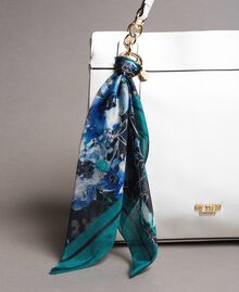 Faux leather hobo bag with scarf Off White Woman 191MO8102-04