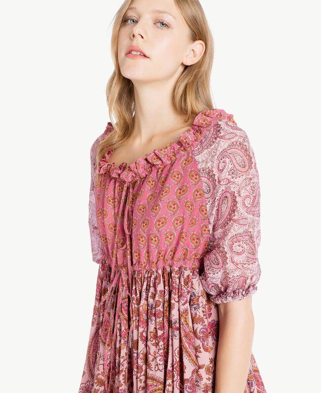 printed blouse Mixed Paisley Print Woman TS82XD-04