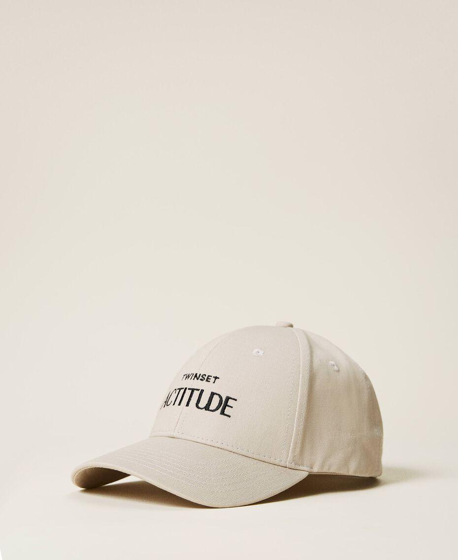 """Cappello da baseball con logo Beige """"Bone"""" Donna 212AA4110-01"""