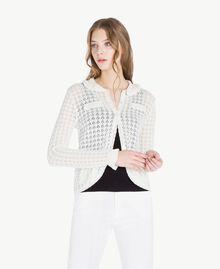 Cotton mandarin collar top Mother Of Pearl Woman TS83AQ-01